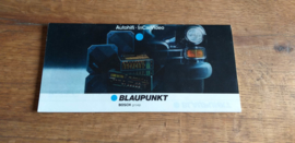 Blaupunkt 1987 folder o.a. Car CD speler CDP 05