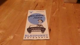 Blaupunkt 1960 /61 autoradio speciaal voor volkswagen