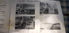 autoradio inbouw set voor Mazda 323 626 929