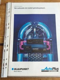 Blaupunkt 1990 Van Autoradio tot mobiel geluidsysteem (VW autoplus)