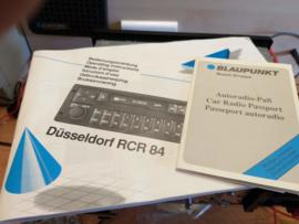 "Blaupunkt RCR 84 Düsseldorf  ""nieuwstaat"""