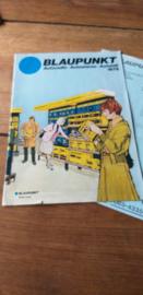 Blaupunkt  1979 folder / prijslijst  autoradio