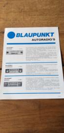 Blaupunkt 1969 folder / prijslijst