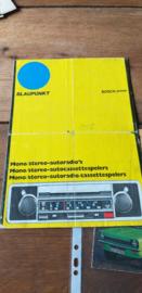 Blaupunkt 1973 folder/prijslijst (ned) februari