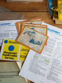 Funkradio 27mc information Blaupunkt  + QSL / CB-STATION