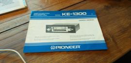 Pioneer KE-1300 Owner's Manuel