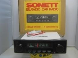 Zeldzaam NOS radio voor Saab Sonett (sold)