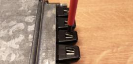 druktoetsen vervangen Blaupunkt radio