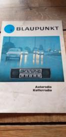 Blaupunkt 1968 Autoradio / Kofferradio o.a. Porsche