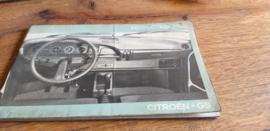 Instructieboekje Citroën GS