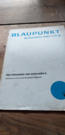 """Blaupunkt 1966 """"het inbouwen van autoradio's"""""""