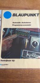 Blaupunkt 1977 folder