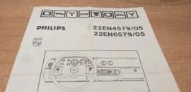 Einbauanleitung Opel Manta / Ascona 1971 Philips autoradio