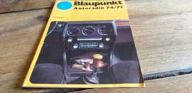 Blaupunkt 1974 /75 Folder
