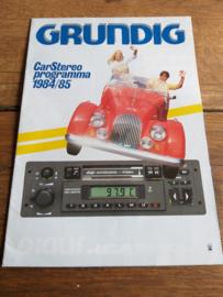 Grundig 1984 folder + prijslijst + leaflet
