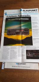 Blaupunkt 1982 folder Bamberg SQR 82 die neue klangdimension
