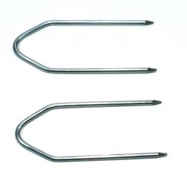 2 Ontgrendelingssleutel / Entriegelungsbügel voor ISO Autoradios