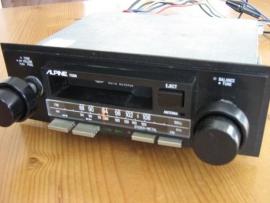 Alpine 7125N Stereo Radio met cassettespeler voor oldtimer