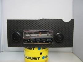 Autoradio met frontje voor Porsche 914 met VW radio