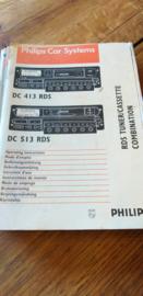 DC 413 / 513 gebruiksaanwijzing manual Philips  autoradio