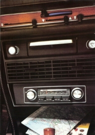 Philips 1972 radio folder : Philips im Auto 1972