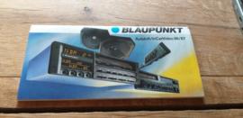 Blaupunkt 1986 Autohifi / In Car Video