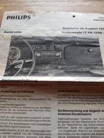 Philips radio einbausatz VW Käfer
