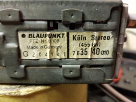 Blaupunkt Köln Stereo voor Porsche 911 vanaf 8/73, G-Model