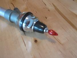 Hirschmann antenne mit roten knopf