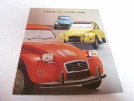 Autofolder Citroën 2cv en Dyane