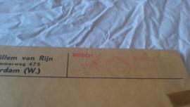 Blaupunkt 1968 folder / prijslijst  in originele envelop van Willem van Rijn