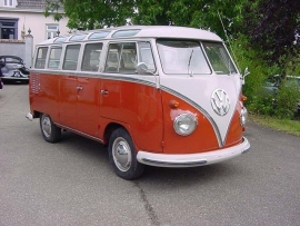 Verkocht Blaupunkt  Frankfurt komt in T1 samba 1962
