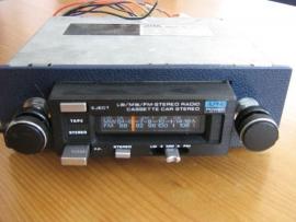 Alpine CM-710 Radio FM Stereo cassettespeler voor oldtimer