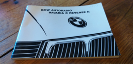 Bavaria C reverse II Original BMW Autoradio Betriebsanleitung manual gebruiksaanwijzing