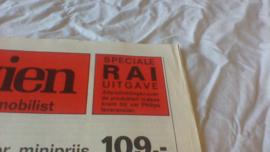 Philips 1969 speciale RAI uitgave  autoradio's 1969