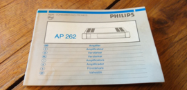 AP 262 gebruiksaanwijzing manual Philips
