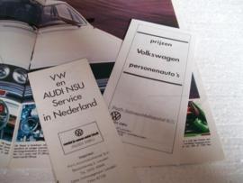 Autofolder  Volkswagenprogramma