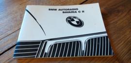 Bavaria C  II Original BMW Autoradio Betriebsanleitung manual gebruiksaanwijzing