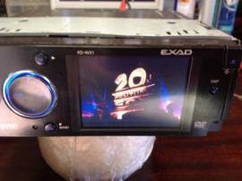 JVC KD-AVX1 EXAD MP3 DVD CD player