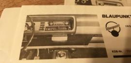 Einbauanleitung Ford  Capri 1969 Blaupunkt autoradio