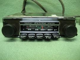 Becker verticaal auto radio o.a. Ferrari,  pantera, Marcos