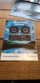 Blaupunkt 1982 folder o.a. Bremen (frans)