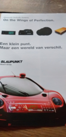 """Blaupunkt """"on the wings of perfection"""" folder / poster"""