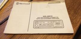 herwood XR-4814 gebruiksaanwijzing manual betriebsanleitung