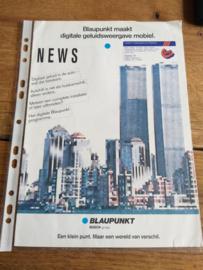 Blaupunkt 1989 folder o.a. DTP 08