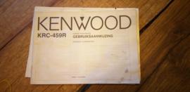 Kenwood KRC-459R gebruiksaanwijzing manual betriebsanleitung