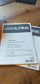 Alpine CHA-S604 Bedienungsanleitung Operating Instructions