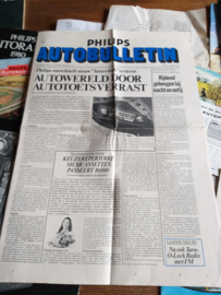 Philips 1971 folder autobulletin