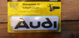 "2 monogramme fur schmutzfanger ""AUDI"""