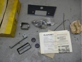 Blaupunkt radio frontje Fiat 124 850 1400 1600 Autobianchi